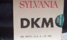 Sylvania dkm bulb 250 watts 21.5v 21.5 volts projector lamp made USA bluetop nos