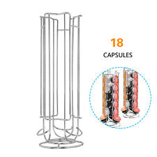 18 Coffee Capsules Pod Holder Stand Dispenser Storage Capsule For Dolce Gusto