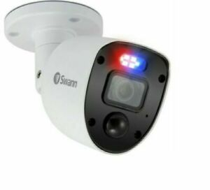 Swann 1080SL HD Police Style Flashing Lights Spotlights Enforcer Camera CCTV x1