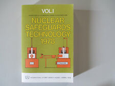NUCLEAR SAFEGUARDS TECHNOLOGY 1978-VOL. 1-VIENNA 2-8 OCTOBER 1978-RARE PAPERBACK