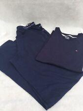 Tommy Hilfiger Para Hombre Pijama Set M Navy Blue