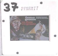 Kino # Film-Werbe-Dia # 50mm x 50mm # Charles Bronson # Ein Mann wie Dynamit