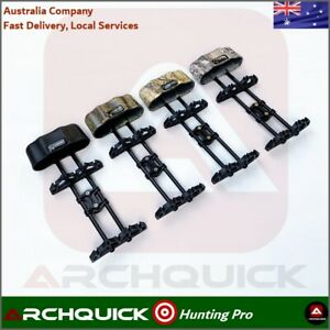 Archery Arrows Quiver 5 Arrows Compound Bows Recurve Hunting Bows Black Camo