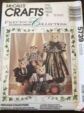 McCalls Crafts Precious Collections Cat and Kittens 731/5739 NEW/UNCUT