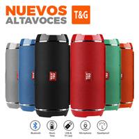 ALTAVOZ PORTATIL CON BLUETOOTH ALTAVOCES INALAMBRICO CON USB, MICRO SD, AUX