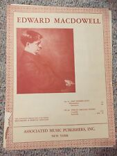 Edward MacDowell from Op. 10 First Modern Suite Praeludium
