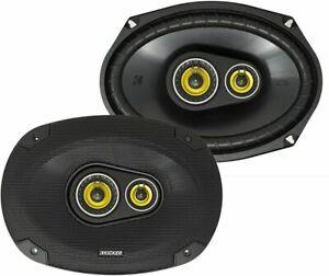 "Kicker CS Series 6x9"" 3-Way Car Speakers CSC693 - Pair (Ships as 46CSC6934)"
