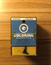 GOLDRING S.433 SR/2 SAPPHIRE STEREO STYLUS/ NEEDLE FOR GARRARD GCM21T,22T,GKM24T
