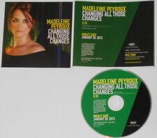 Madeleine Peyroux - Changing All Those Changes  U.S. promo cd