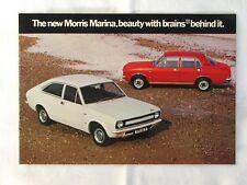 Morris Marina brochure - 1971?