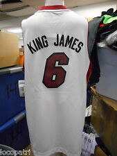 Adidas NBA Miami Heat LeBron James King James Youth Swingman Jersey NWT M