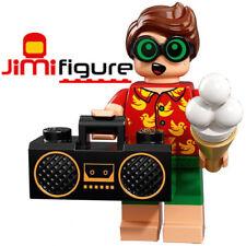 NEW LEGO Minifigures Vacation Robin Batman Movie Series 2 71020 Dick Grayson