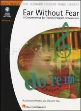 Ear Without Fear Volume 2 Ear Training Program Music Book with Audio Hal Leonard