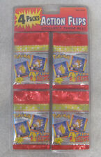 1999 Pokemon Action Flips trading cards unopened 4 packs in package