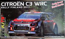 Belkits 018 2017 Citroen C3 Rallye Finland C. Breen / S. Martin 1:24 neu 2021