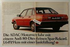 French Advertising  AUDI 80 Quattro 1983 //// Publicité magazine