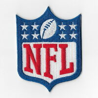 National Football League Iron on Patches Embroidered Patch Blue 8 Stars Logo FN