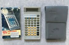 Vintage 1985 Texas Instruments Programmer 2 LCD Calculator + Instructions & Case