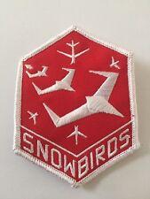 Canadian Air Force SNOWBIRDS acrobatic squadron Canada Patch