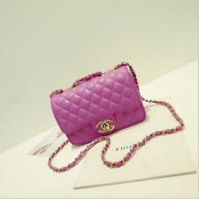 Hot New Women Quilted Chain Bag Pu  Leather Shoulder Crossbody handbag Messenger
