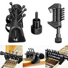 1Pc Multifunction Spider Guitar Capo Black For Universal Acoustic Guitar Strings