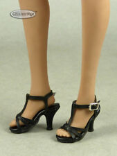 1/6 Phicen, TB League, Kumik, NT - Female Sexy Black Ankle Strap High Heel Shoes