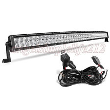 50''inch 480w CREE Curved LED Work Light Bar Combo Flood Spot for Off Road Truck
