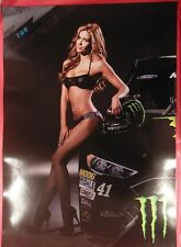 4 MONSTER ENERGY DRINK Double Sided Posters (22 x 15.5) Gorgeous MONSTER Girls