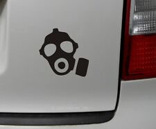 1x masque à gaz zombie Biohazard AUTOCOLLANT GAMER autocollant voiture JDM Dub style