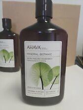 Ahava Mineral Botanic Micro-Peeling Cream Wash Water Lily & Guarana 17oz