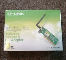 TP-Link TL-WN751ND 150Mbps Wireless N PCI Adapter Wifi PC Windows 7/XP/8.1