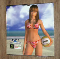 2003 Dead or Alive Xtreme Beach Volleyball very Rare Calendar New & Sealed