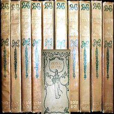 1898 NOVELS JANE AUSTEN 10VL SET 50+ COLOR ILLUS PRIDE & PREJUDICE EMMA ENGLAND