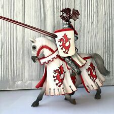 Schleich WHITE Rider with Spear 70046 RITTER KNIGHT