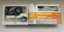 Vintage Vanco Dynamic Microphone Model MD-372 Silver Cardioid Japan NOS