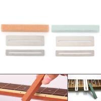 Guitar Fret Wire Polishing Beam Sanding Stone Protector DIY Luthier Tool Kit JC
