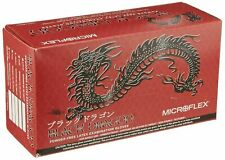 Microflex Black Dragon, Latex Gloves, Large 100 per box