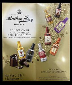 Anthon Berg 64pcs Liquor Filled Dark Chocolate Gift Box 1kg BRAND NEW