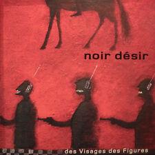"""NOIR DESIR """"DES VISAGES DES FIGURES"""" DOUBLE VINYLE 180G EDITION LIMITEE  NEUF"""