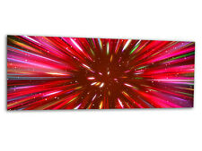 "Acrylic-glass Wallart Supernova Rojo ag312500504 Xxl Panel 49,2 ""x19.7"" impresión"