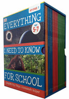 Everything I Need to Know for School Complete Keystage 1 Box Set 30 Books Pack