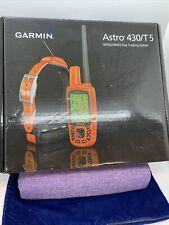 New Garmin Astro 430/T5 Mini Gps Dog Tracking and Training Bundle - 010-01635-01