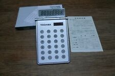 TOSHIBA P-915 VINTAGE CALCULATOR NOS WORKS PERFECTLY!