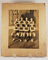 Antique Cabinet Card High School Boys Basketball Team Winchester Tennessee Photo