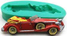 SILIKON 3D BACKFORM AUTO OLDTIMER 2 FONDANT TORTE AUSSTECHFORM DEKO GEBURTSTAG