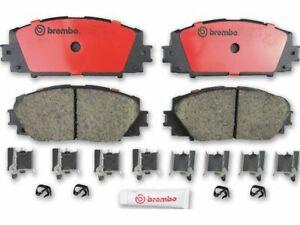 For 2013 Scion iQ Brake Pad Set Front Brembo 18596KD EV
