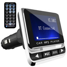 1.4'' LCD Wireless Car Bluetooth FM Transmitter with USB Charger Hands-Free Call