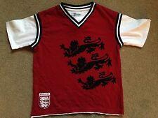 BNWT NEXT Red White England Three Lions Tank Top T-Shirt 5 Years 110cm