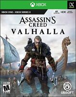 Assassin's Creed Valhalla (Microsoft Xbox One/Series X, 2020) New Release