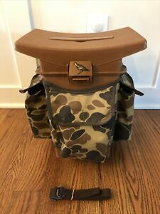 Woodstream Hunting Fishing Seat Model #9080 Camo, Excellent Condition!